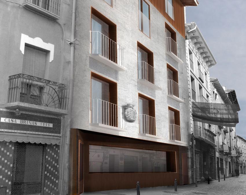 Casa Maisterrena, en Tudela